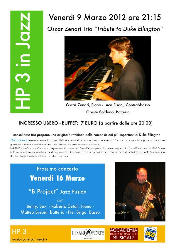 Oscar Zenari Trio